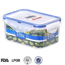 Rechteckige Großhandelsplastikkuchen-Pop-Box 600ml
