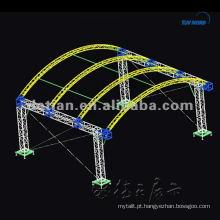 Treliça de alumínio do suporte de exposição para o carrinho da feira profissional feito em Shanghai