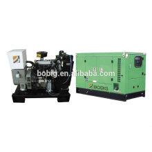 8kw 10kw 12kw 15kw 20kw 30kw enfriado por agua grupo electrógeno diesel con Quanchai Motores