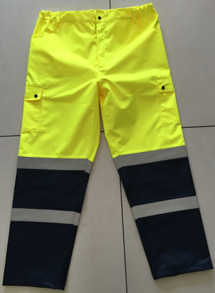 Waterproof Man Pants Reflective Safety Pants