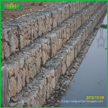 Cheap and fine decorative wire mesh gabion retaining wall