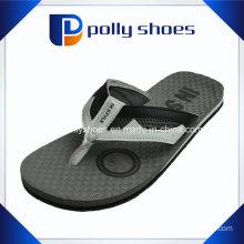 Men Leather Thong Summer Flip Flop Sandal Brown Crazy Horse