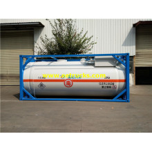 50cbm 40ft ISO HCl Tanker Containers