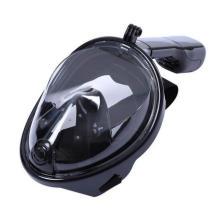 Hot 2017 Snorkel Mask Full Face Free Respirando Diseño Snorkel con Anti-Niebla y Prevenir Gag Reflex con Tubeless Design para Adultos y Jóvenes