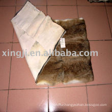 Chinese hare rabbit skin fur plate
