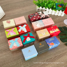 small luxury cardboard rigid gift box for chocolate packaging