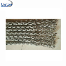 Cable Connector Sleeve Stainless Steel Wire Mesh Grips