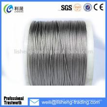 6 * 7 + FC Cuerda de alambre de acero de alta tensión no galvanizada