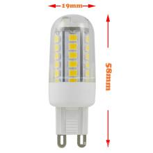 Nouveaux produits 2014 G9 3W 42 2835 SMD LED Corn Bulb