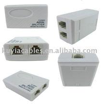 Phone Telephone Modem ADSL RJ11 Splitter Filter
