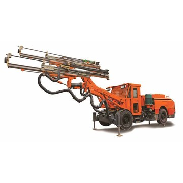 Mine Tunneling Jumbo Drills with Double Arm