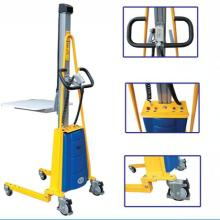 100KG Semi-Electric light-duty Pallet stacker