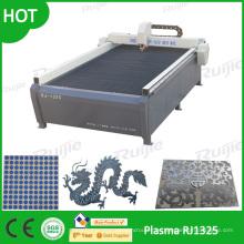 CNC que hace publicidad de la cortadora de plasma Rj1325