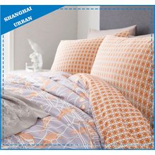 Orange Parrot Theme Polyester Duvet Cover Bedding
