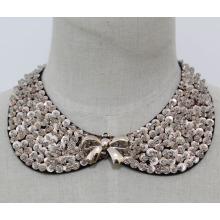 Мода ювелирные изделия ожерелье воротник sequin (JE0118)