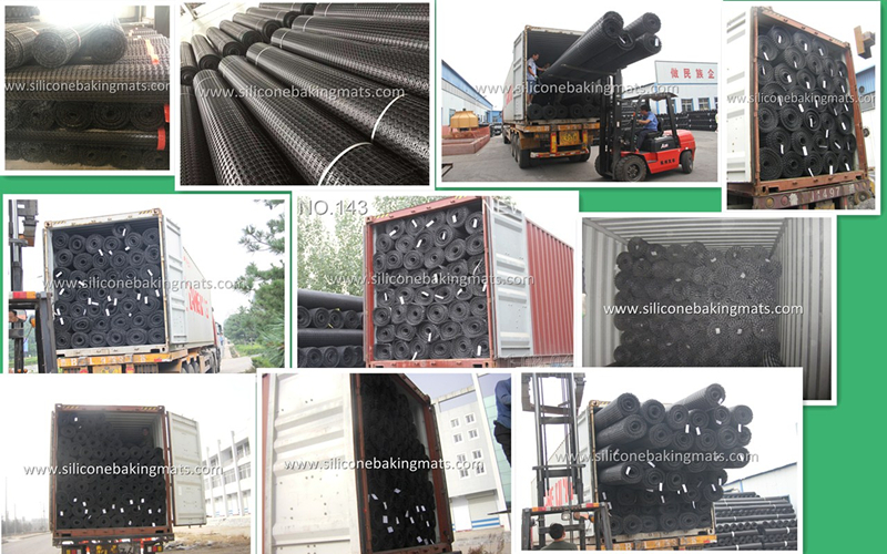 Loading Photos of PP Biaxial Geogrid