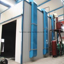 Cámara de pintura de la sala de chorreado con sistema de eliminación de polvo, separador