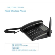 GSM Telephone Set Wireless Fixed Phone with SIM Card