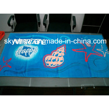 High-Quality Cotton Beach Towel (SST0563)