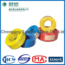 2015 Top Quality Colorful 2mm PVC Insulated Electric Wire