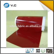 Tissu ignifugé à la vente chaude Tissu en fibre de verre revêtu de silicone