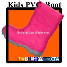 JX-916P цветной ПВХ детей дождь сапоги & резиновые сапоги дождь для детей