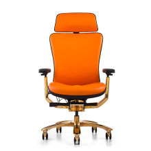 Leather Ergonomic Chair/Office Leather Chair/ Leather Ergonomic Office Manager Chair