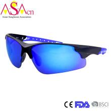 Мужская мода дизайнер спорта UV400 защиты ПК солнцезащитные очки (14366)