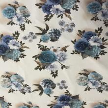 Новая ткань ткани тканья бархатной ткани напечатанная скрепленная тканью