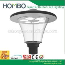 High bright CE Rohs certificat 3 ans garantie dome jardin lumière décoratif stationnement éclairage éclairage LED