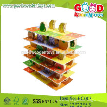 hot new products for 2015 preschool wooden kids fruit jenga toys