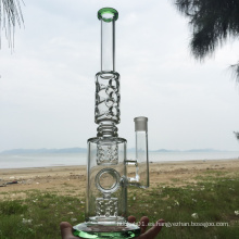 Ancient Horn Design Hookah de cristal de fumar tuberías de agua (ES-GB-289)