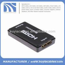 Novo HDMI Repetidor Amplificador Boost Joiner Extents Sinal HD 40M 1080P Até 40M