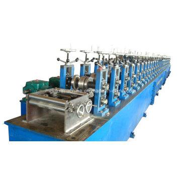 Máquina formadora de rolos de aço para gabinete elétrico