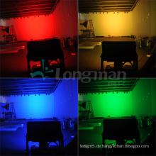 300W im Freien wasserdichtes Rgbaw Stadt-Farben-LED-Wand-Unterlegscheiben