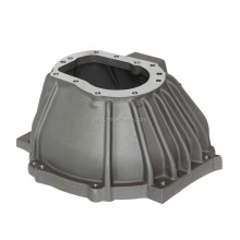 Aluminum foundry supply custom sand casting bell housing and intake manifold