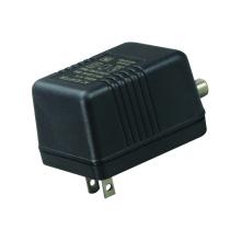 Fuente de alimentación lineal de conector F para CATV