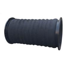 Manguera de succión flexible de dragado de unión roscada de junta de expansión de goma de alta calidad de 6 pulgadas