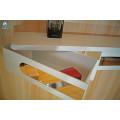 Support multifonctionnel blanc de stockage d'étagère de transporteur d'accessoires de salle de bains d'ABS
