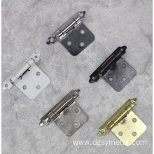 Small box hinges decorative for door