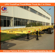 2 Axle 40feet Container Semi Trailer 40ft Flatbed Trailer 3 Axle Flat Bed Semitrailer