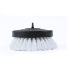 Pneumatic leather&vinyl interior scrub brush