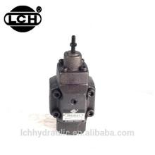 dump truck hydraulic control pressure reducing valve with gauge