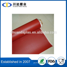 The Most Professional E Fibre Glass Cloth coated with silicone rubber on both sides