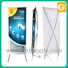 Digital printing flexible standard size x banner stand