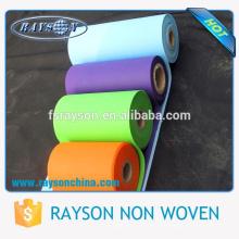 Foshan Rayson Fabrica De Polipropileno Sencillo Tela No Tejida