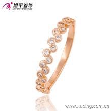 Anillo de dedo de la joyería de imitación oro CZ Rose Fashion moda caliente 13506