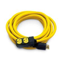 US standard NEMA L14-30P to 5-20R Duplex Style Generator Extension Cords