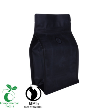 Food Grade Square Bottom Epi Biodegradable Bag Factory China