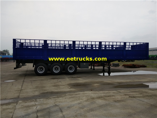 Box Cargo Semi Trailers
